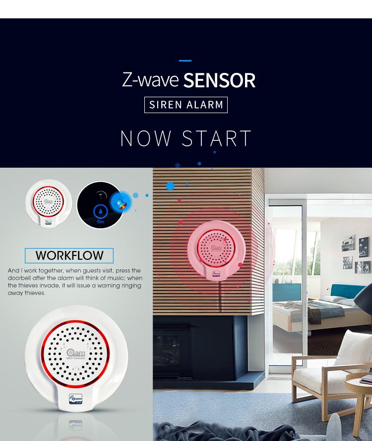 Z-Wave neo siren