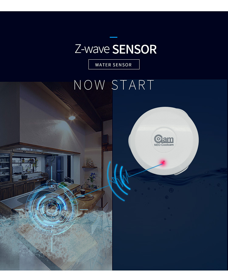 z-wave neo flood sensor