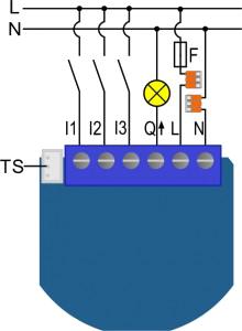 Electrical diagram 230VAC